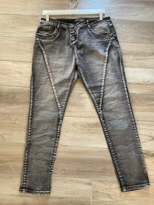 Graue Jeans von Zac & Zoe, Gr. XL / 42