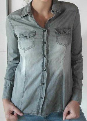 Esmara Blouse en jean gris