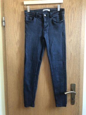 Zara Wortel jeans grijs