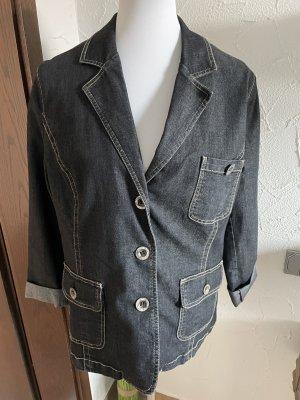 graue Jeansjacke von Wissmach - Gr. 44