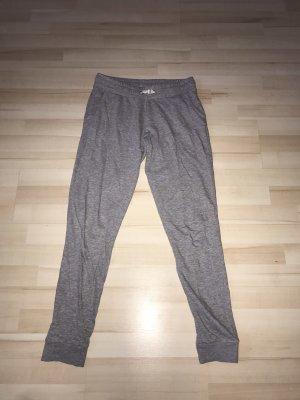 C&A Pantalon de jogging blanc-gris clair