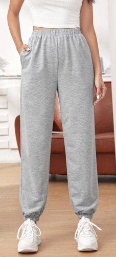 Pantalon de jogging gris clair-gris