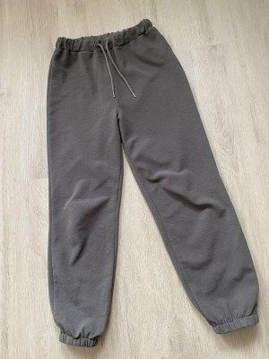 Luźne spodnie szary