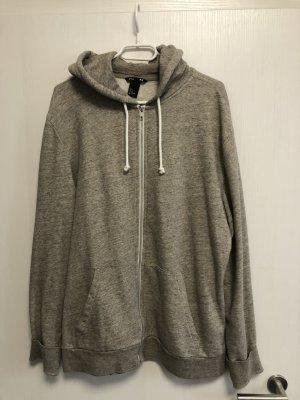 H&M Veste à capuche gris brun