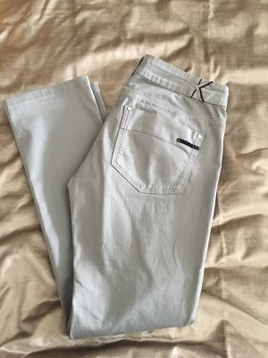 Karl Lagerfeld Jeans coupe-droite gris clair