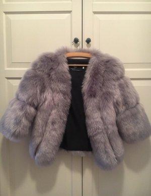 Fake Fur Jacket grey