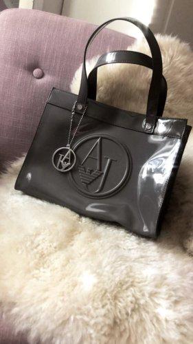 Armani Jeans Handbag grey-silver-colored