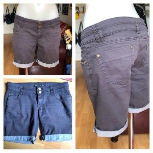 Blind Date Pantalon «Baggy» gris-gris clair