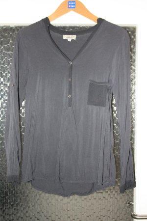 Graue langarm Bluse von iSilk