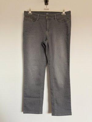 Graue lange Hose, Jeans von Mac Angela Pipe, Gr. 44 / 30 (NEUw.)