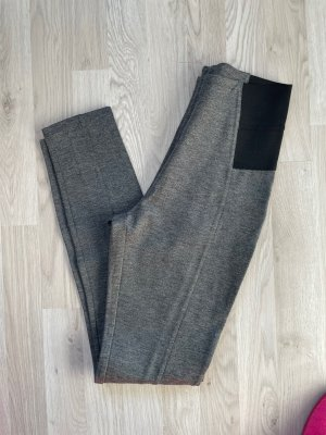 Graue Leggings mit Gummizug gr 36/38