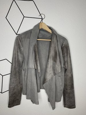 Amisu Between-Seasons Jacket silver-colored
