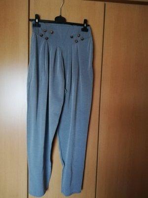 Pantalón estilo Harem gris