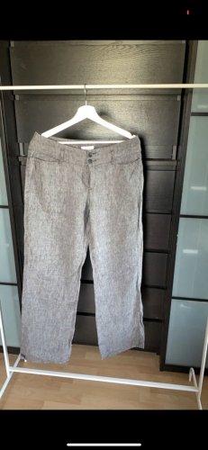 Mac Pantalon en lin gris