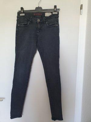 Graue Low waist Jeans