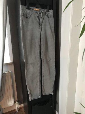 Mac Jeansy z prostymi nogawkami jasnoszary