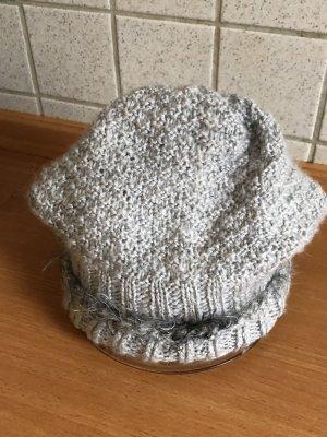 Sombrero de tela gris
