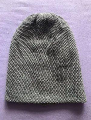 Gina Chapeau en tricot gris acrylique