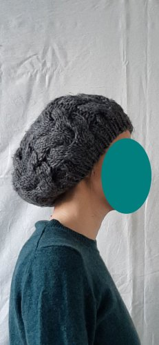 Promod Knitted Hat grey