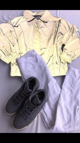Air Jordan Basket à lacet gris-gris clair