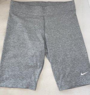 Nike Pantalón corto deportivo gris claro-blanco