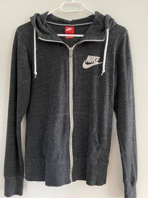 Graue Nike Sweatjacke