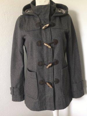 Only Duffle-coat gris-gris foncé tissu mixte