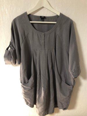 graue oversized Bluse von H&M