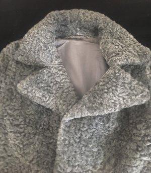 Edel-Pelze Christen Veste de fourrure argenté-gris