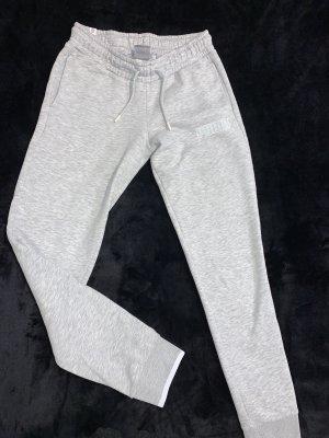 Puma Pantalón deportivo gris claro-blanco