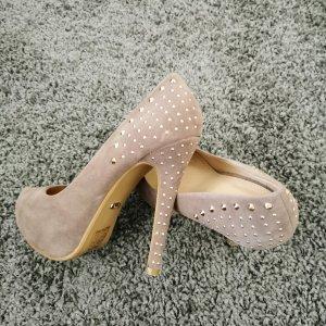 -8- Venice High Heels grey brown