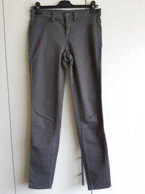 Sisley Pantalón de tubo gris oscuro-gris