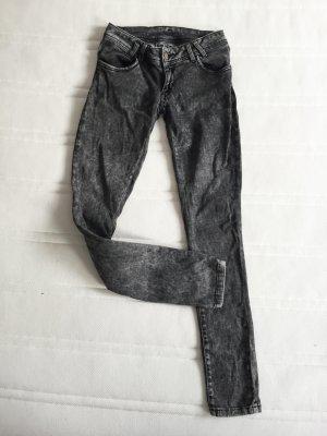 Zara Jeans skinny multicolore Cotone