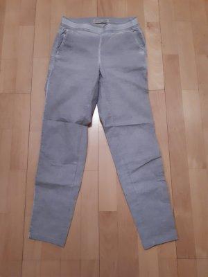 Stehmann Pantalone jersey argento Cotone