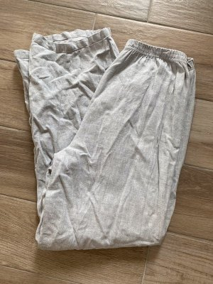 Pyjama silver-colored cotton
