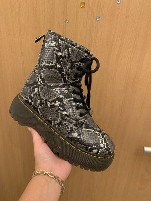 Low boot noir-argenté