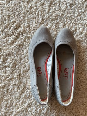 Graue Schuhe von s.Oliver Größe 38