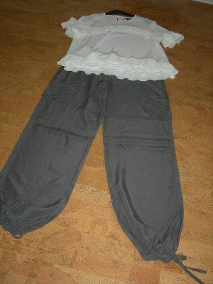 Alba Moda Pantalone bloomers grigio