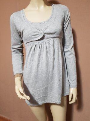 graue Shirttunika, Neu mit Etikett Gr. 32