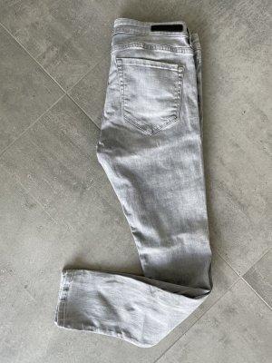 Graue Skinny Jeans von COSTES - W31 / L30
