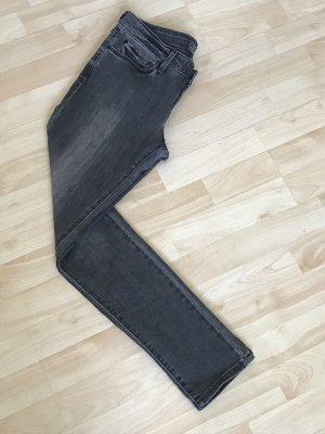 Graue Skinny Levi's Demi Curve Medium High W27 L30