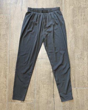 Benetton Pantalón tipo suéter gris oscuro