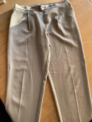 New Look Pantalone a pieghe grigio chiaro