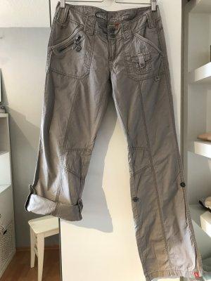 edc by Esprit Cargo Pants silver-colored cotton