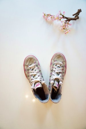Graue Stoffschuhe von Nike / Sneaker