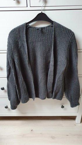 Esprit Cardigan a maglia grossa grigio