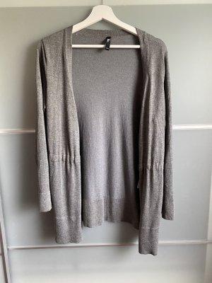 Takko Giacca in maglia grigio