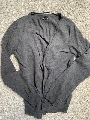 Graue Strickjacke von Vero Moda in Größe M