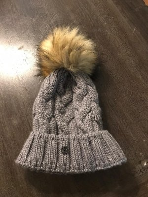 Bogner Fire + Ice Knitted Hat light grey-grey