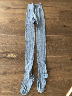 Graue Strumpfhose